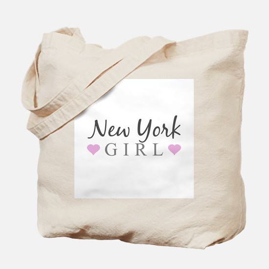 New York Girl Tote Bag