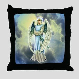 Angel Michael Throw Pillow