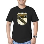 USS McCLOY Men's Fitted T-Shirt (dark)