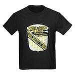 USS McCLOY Kids Dark T-Shirt