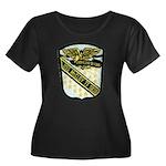 USS McCL Women's Plus Size Scoop Neck Dark T-Shirt
