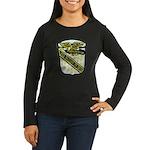 USS McCLOY Women's Long Sleeve Dark T-Shirt