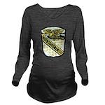 USS McCLOY Long Sleeve Maternity T-Shirt
