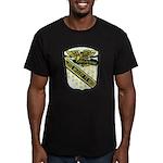 USS McCLOY Men's Fitted T-Shirt (dark)