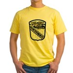 USS McCLOY Yellow T-Shirt