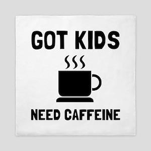 Got Kids Caffeine Queen Duvet