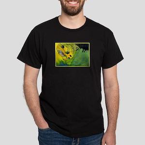 Green Budgie Dark T-Shirt