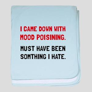 Mood Poisoning baby blanket
