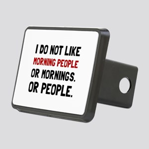 Morning People Hitch Cover
