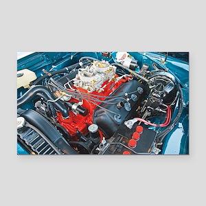 426 Hemi Rectangle Car Magnet
