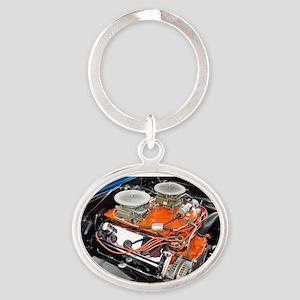 426 Hemi Oval Keychain