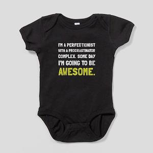 Procrastinator Awesome Baby Bodysuit