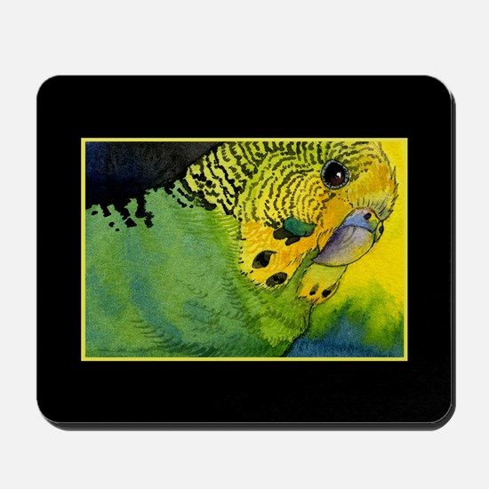 Green Budgie Mousepad