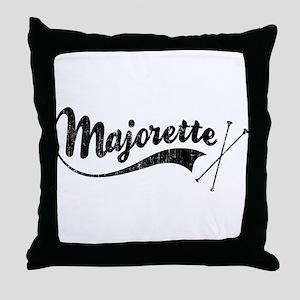 Majorette Throw Pillow