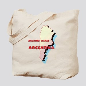 Argentina Map Tote Bag