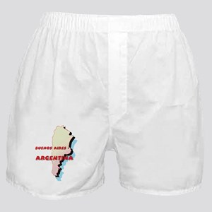 Argentina Map Boxer Shorts