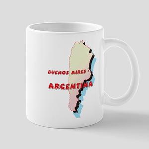 Argentina Map Mug