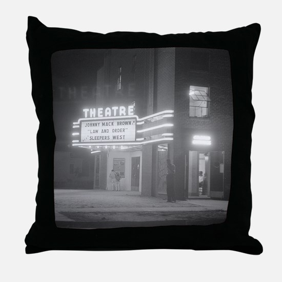 Cute Hollywood Throw Pillow