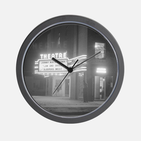 Unique Movie Wall Clock