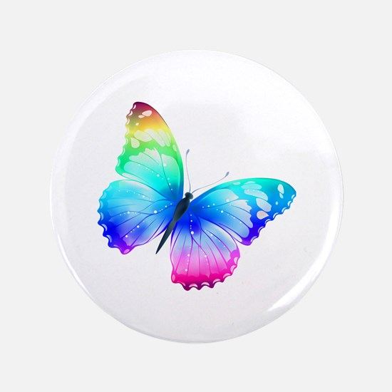 "Butterfly 3.5"" Button"