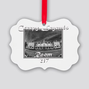 Creepy Legends Room 217 Picture Ornament