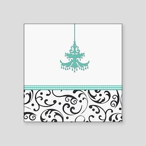 Chandelier and Swirls Sticker