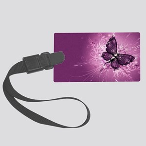 Butterfly Large Luggage Tag