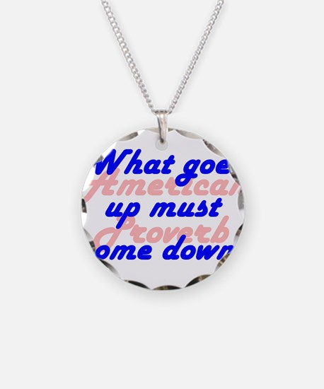 What Goes Up Necklace