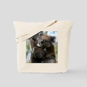 Mama and Baby Koalas Tote Bag