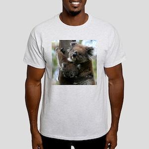 Mama and Baby Koalas Light T-Shirt