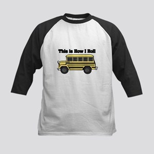 How I Roll (Short Yellow School Bus) Kids Baseball