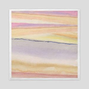 soft lavender abstract Queen Duvet