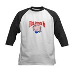Filth Attracts Me Kids Baseball Jersey
