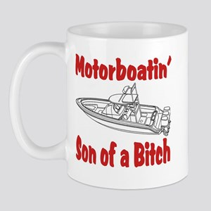 Motor Boating Mug