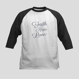 Faith Hope Love Baseball Jersey
