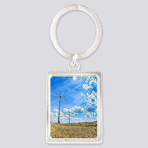 Clean Energy Portrait Keychain