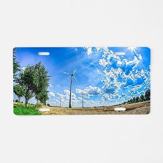 Clean Energy Aluminum License Plate