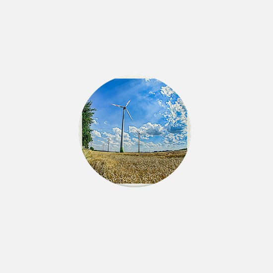 Clean Energy Mini Button