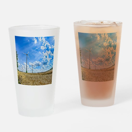Clean Energy Drinking Glass