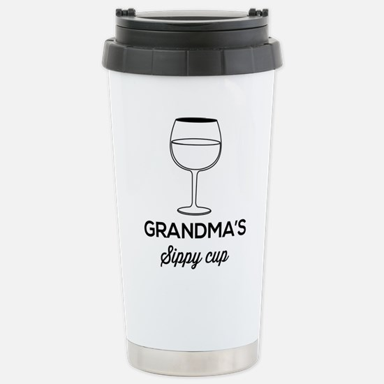 Grandma's Sippy Cup Travel Mug