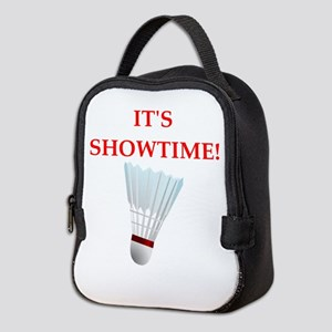 badminton Neoprene Lunch Bag