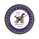 Afghan Best In Specialty Show Wall Clock