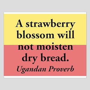 A Strawberry Blossom Small Poster