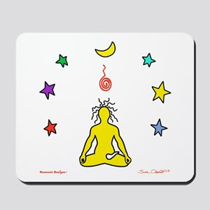 Yogi Electric Yellow Mousepad