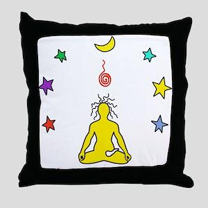 Yogi Electric Yellow Throw Pillow