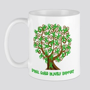 Spinal Cord Injury Support Tree Mugs