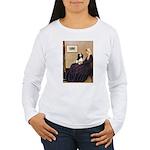 Mom's Tri Cavalier Women's Long Sleeve T-Shirt