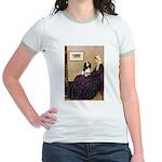 Mom's Tri Cavalier Jr. Ringer T-Shirt