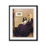 Mom's Tri Cavalier Framed Panel Print