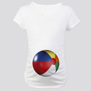 Beach Ball Maternity T-Shirt